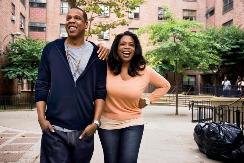 Oprah Winfrey named as Blue Ivy Carter's godmother?