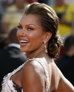 Vanessa Williams Low bun