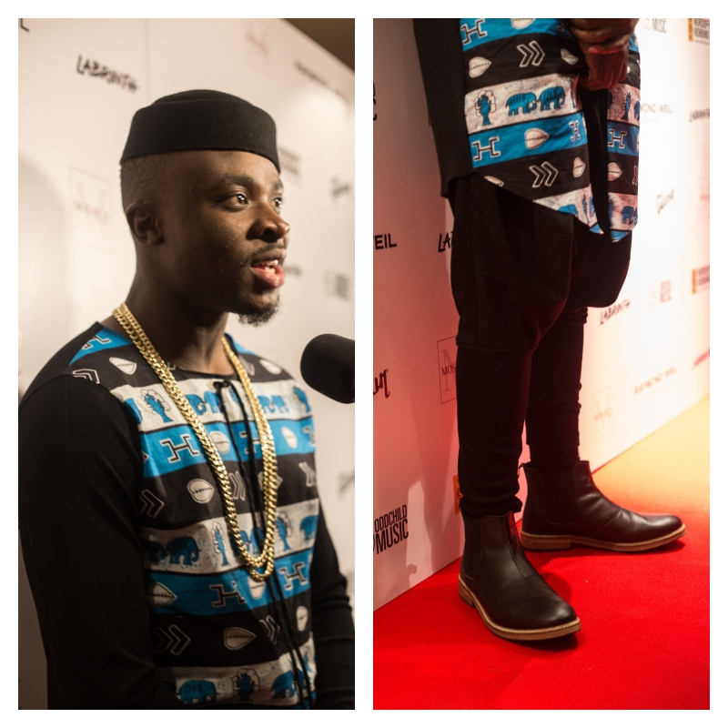 Fuse ODG african print me