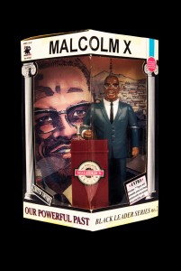 Courtesy of Jon Daniel. Malcolm X. Made by Olmec Toys Inc © 1994
